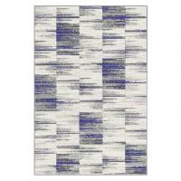 Covor living / dormitor Carpeta Matrix 58101-17211, polipropilena frize, dreptunghiular, crem, 60 x 110 cm