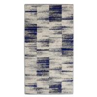 Covor living / dormitor Carpeta Matrix 58101-17211, polipropilena frize, dreptunghiular, crem, 120 x 170 cm