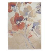 Covor living / dormitor Carpeta Matrix 57881-17933, polipropilena frize, dreptunghiular, coral, 160 x 230 cm