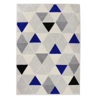 Covor living / dormitor Carpeta Soho 57651-17223, polipropilena frize, dreptunghiular, crem, 80 x 150 cm