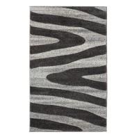 Covor living / dormitor Sintelon Motion 04BWB, polipropilena, dreptunghiular, gri, 120 x 170 cm