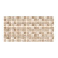 Faianta mozaic baie / bucatarie, Cesarom, 2051-0182 Sibley, lucioasa, bej, aspect marmura,  25 x 50 cm