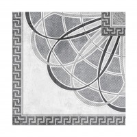 Decor pentru gresie Granada Medalion Perla, bej, lucios, 60 x 60 cm