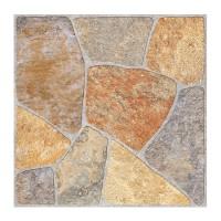Gresie exterior portelanata Cesarom, 6046-0512 Pietra Rustico Elba, mata, multicolor, antiderapanta, imitatie pietre, 45 x 45 cm