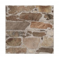 Gresie exterior / interior portelanata, Livorno 9773, maro, mata, antiderapanta, imitatie piatra, 45 x 45 cm