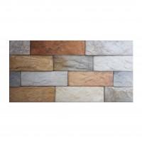 Gresie exterior / interior portelanata New Brick Stone, mata, imitatie caramida, 30 x 60 cm