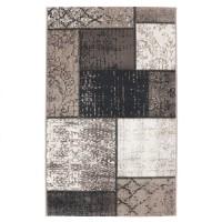 Covor living / dormitor Vintage 22221-75, polipropilena, dreptunghiular, maro, 80 x 150 cm