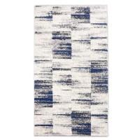 Covor living / dormitor Carpeta Matrix 58101-18211, polipropilena frize, dreptunghiular, crem, 60 x 110 cm