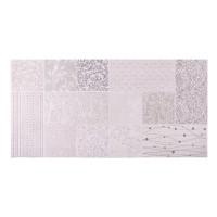 Decor baie / bucatarie Verena Print 2899, mat, imitatie piatra, lila, 30 x 60 cm