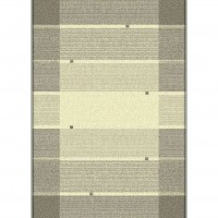 Traversa Carpeta Delta 31784-43242, polipropilena heat-set, bej + maro, cl. 22, 0.8 m