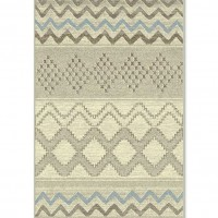 Traversa Carpeta Delta 82214-43255, polipropilena heat-set, bej + gri, cl. 22, 0.8 m
