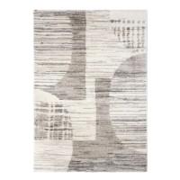 Covor living / dormitor McThree Sweet Dream A520 X50, poliester, dreptunghiular, crem + bej, 80 x 150 cm