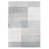 Covor living / dormitor McThree Softness A027 H304, polipropilena, dreptunghiular, gri, 80 x 150 cm
