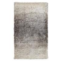 Covor living / dormitor McThree Skin 9938 X501, polietilena, 80 x 150 cm, crem + gri, dreptunghiular