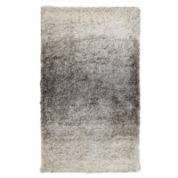 Covor living / dormitor McThree Skin 9938 X501, polietilena, 120 x 170 cm, crem + gri, dreptunghiular
