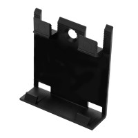 Cleme pentru plinta MDF 90 mm SET CL 50/20, polistiren, negru, set 20 buc