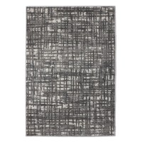 Covor living / dormitor BEENOM 10091-0123, polipropilena frize, 80 x 150 cm,  bej + crem + gri, dreptunghiular