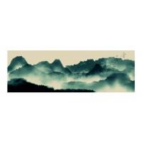 Panou decorativ din sticla, pentru bucatarie / baie Glasfabrik DKEMG10, aspect peisaj, 1400 x 600 x 4 mm