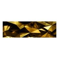 Panou decorativ din sticla, pentru bucatarie / baie Glasfabrik DKEMG43, aspect 3D,2600 x 600 x 4 mm