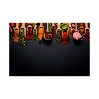 Panou decorativ din sticla, pentru bucatarie Glasfabrik DKEMG53, 1400 x 600 x 4 mm