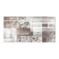 Panou decorativ din sticla, pentru bucatarie / baie, Glasfabrik DKEMG76, aspect abstract, 1400 x 600 x 4 mm