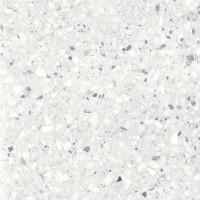 Gresie exterior / interior portelanata Terazzo, mata, gri, imitatie piatra, 60 x 60 cm