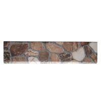 Plinta gresie portelanata Sorrento, imitatie piatra, bej, 8 x 33.3 cm