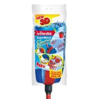 Mop Vileda 3 Action + coada Euroclick, 430 g