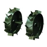 Roti metalice pentru motocultor Bronto Bronto, cu gheare, d 33 cm (1 bucata = 1 set 2 roti)