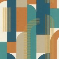 Tapet vlies, model geometric, Rasch Selection 480016, 10 x 0.53 m