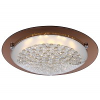 Plafoniera LED Tabasco 48264, 18W, bronz - auriu + alb
