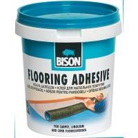 Adeziv pentru mocheta si linoleum, Bison Flooring, 1 kg, maro deschis