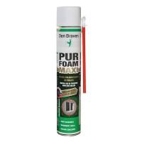 Spuma poliuretanica, cu aplicare manuala, Den Braven Maxi Foam, 825 ml