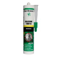 Silicon universal Den Braven 1001 U, transparent, interior / exterior, 280 ml