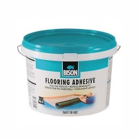 Adeziv pentru mocheta si linoleum, Bison Flooring, 6 kg, maro deschis