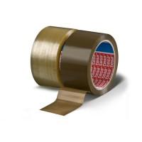 Banda adeziva pentru ambalare tesa 4280, maro, 66 m x 48 mm