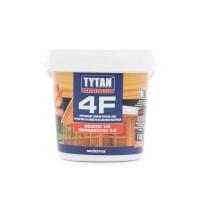 Impregnant ignifug pentru lemn, Tytan Professional 4F, transparent / rosu, 1 kg