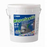 Hidroizolatie flexibila, bicomponenta, Mapei Mapelastic (A+B) 12+4 kg