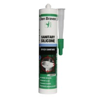 Silicon sanitar, transparent, Den Braven, interior, 280 ml