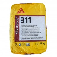 Mortar de turnare, Sika SikaGrout - 311, gri, interior / exterior, 25 kg