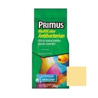 Chit de rosturi gresie si faianta Primus Multicolor Antibacterian B07 sand, interior / exterior, 2 kg