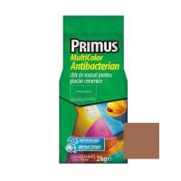 Chit de rosturi gresie si faianta Primus Multicolor Antibacterian B15 amber gold, interior / exterior, 2 kg