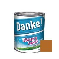 Vopsea alchidica pentru lemn / metal, Danke, exterior, ocru, 2.5 L