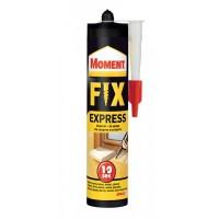 Adeziv pentru suprafete multiple, interior / exterior, Moment Fix Express, crem, 375 gr