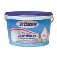 Vopsea lavabila interior, Zertifikat, antimucegai, baie si bucatarie, alba, 4 L