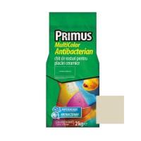 Chit de rosturi gresie si faianta Primus Multicolor Antibacterian B24 palome, interior / exterior, 2 kg