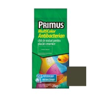Chit de rosturi gresie si faianta Primus Multicolor Antibacterian B25 caviar, interior / exterior, 2 kg