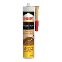 Adeziv etansant pentru parchet si plinte, interior, Moment Parket Acryl, oak light, 310 ml