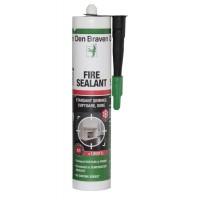 Etansant Den Braven Fire Sealant, negru, rezistent la temperatura, 280 ml