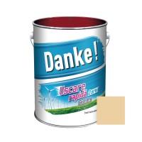 Vopsea alchidica pentru lemn / metal, Danke, exterior, bej, 4 L